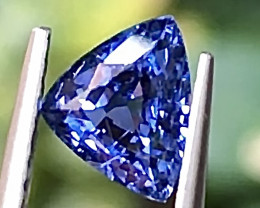 1.05ct Vivid Blue Sapphire With Excellent Luster And Fine Cutting Gemstone