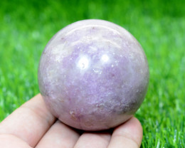 1725 CTs Beautiful Lepidolite Healing Sphere From Pakistan