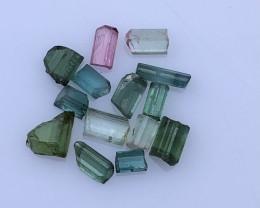 12.60 Carats Natural Tourmaline Rough Lot From Kunar Afghanistan