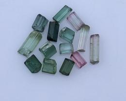 11.95 Carats Natural Tourmaline Rough Lot From Kunar Afghanistan