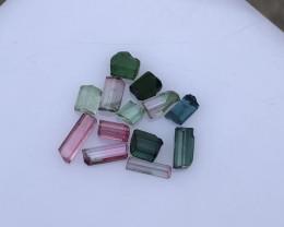 11.90 Carats Natural Tourmaline Rough Lot From Kunar Afghanistan