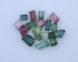 ~NR~15.65 Carats Natural Tourmaline Rough Lot From Kunar Afghanistan