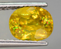 Presenting The Incredible Fire Rare 1.70 Ct Sphene Tanzania Mined !MB