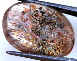 11.85 CTS RAINBOW LATTICE SUNSTONE PG-3579  PRECIOUSGEMS