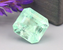 Muzo 3.07Ct Natural Colombian Emerald Neon Green Mint Beryl B2427