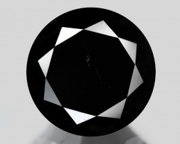Black Diamond 1.31 Cts 100% Fancy Black Color Natural