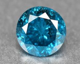 Blue Diamond 0.18 Cts Rare Fancy Intense Color Loose