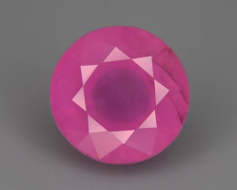 Burma Spinel 2.35 ct Pink Color Fluorescent Properties