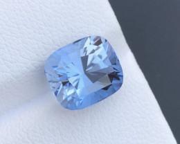 Santa Maria Color 4.45 ct Natural Aquamarine Top Luster