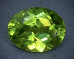 Cr 2.00 apatite  Natural  Faceted Gemstone.( AB 35)