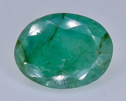 Crt 3.61 emerald  Natural  Faceted Gemstone.( AB 35)
