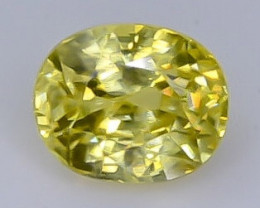 Crt 1.28 zircon  Natural  Faceted Gemstone.( AB 35)