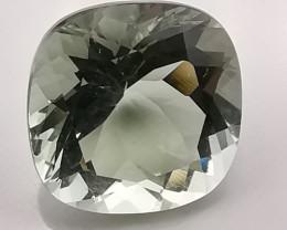 Prasiolite, 4.015ct, excellent gem also called green amethyst!