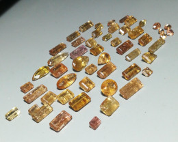 137 ct of Typically Included Imperial Topaz