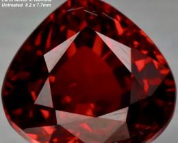 2.71ct Spessartite Garnet - VS / Orangish Red / Namibia 8.2 x 7.7mm