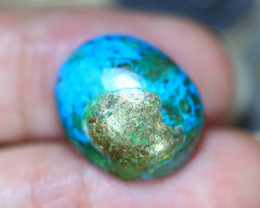 13.58Ct Natural Sleeping Beauty Turquoise Cabochon Lot P493