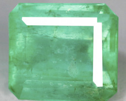 1.51 Cts Vivid Green Color Natural Colombian Emerald