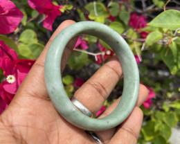256.05 Cts Jade Bangle 100% Natural Unheated Burmese Jade
