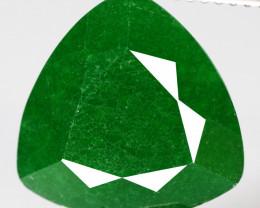 6.90 CTS Vivid Green Emerald Quartz Natural Gemstone