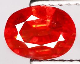 1.10 Cts Reddish Orange Sapphire Natural Gemstone