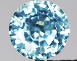 1.34 Cts Natural Blue Zircon Gemstone