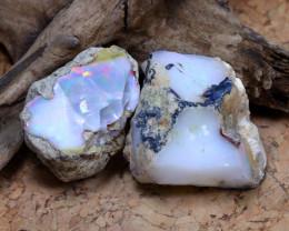 Welo Rough 70.10Ct Natural Ethiopian Welo Opal Rough Parcel C0916