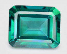 Green Topaz 3.95 Cts Fancy Color Natural Loose Gemstone