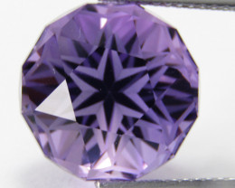 10.00Cts Excellent Quality Natural Amethyst Round Custom Cut Loose Gem