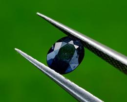 0.55CT BLUE SAPPHIRE HEAT BE BEST QUALITY GEMSTONE IIGC124