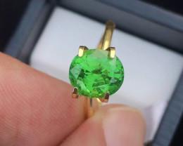 Beautiful Piece ~2.35 Ct Forest Green Tsavorite Garnet Top Luster