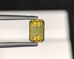 *NR*3.65(ct)Zircon Brownish/Yellowish Color Faceted Gemstone@Tanzania