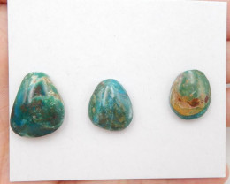 D2791- 20.5cts Blue Opal Cabochon, October Birthstone, Blue Opal Bead