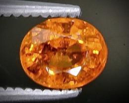 Crt 0.98 spessartite garnet  Natural  Faceted Gemstone.( AB 36)