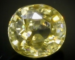 Crt 1.10 zircon  Natural  Faceted Gemstone.( AB 36)