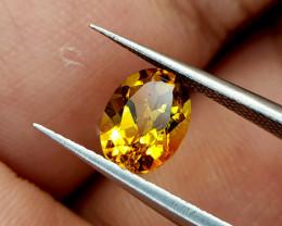 1.25Crt Madeira Citrine Natural Gemstones JI84