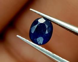 0.53Crt Blue Sapphire Heat be Natural Gemstones JI84
