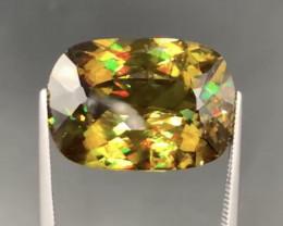 26 .50 Carats fire-full   Sphene  Gemstone from Pakistan