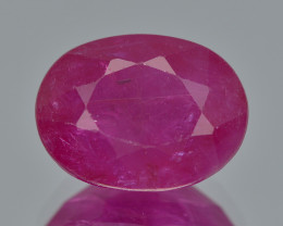 Ruby 2.51 Cts  Rare Fancy Pinkish Color Natural Ruby Gemstone