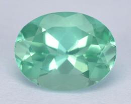 Neon Green Apatite 1.64 Cts Unheated Natural Gemstone