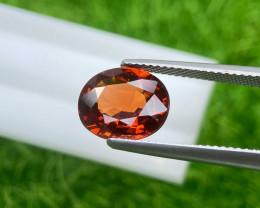 Spesstite Garnet 4.21 Cts  Orange step cut BGC2875 | From Mozambique
