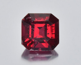 1.25 Cts Amazing Colour Perfect Cut Beautiful Natural Burmese Red Spinel
