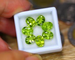 9.03ct Natural Green Peridot Oval Cut Lot LZ151