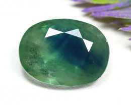 Sapphire 10.20Ct Oval Cut Natural Madagascar BiColor Sapphire C2720