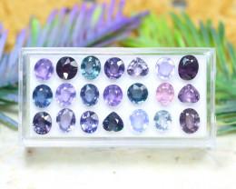 Purple Spinel 13.40Ct VS Natural Tanzania Purple Color Spinel Lot C2735