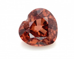Natural Heart shape Zircon Top Quality from Cambodia