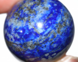 360.20 CTS  LAPIS LAZULI SPHERE POLISHED -HAND PICKED  [STS2338]