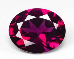 Rhodolite Garnet 2.50 Cts Unheated Natural Cherry Pinkish Red Gemstone