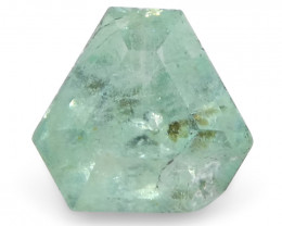 0.48ct Shield Green Emerald from Ethiopia