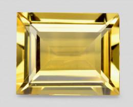 Golden Yellow Beryl 3.51 Cts Very Rare Color Natural Gemstone