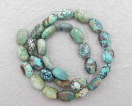 D2830 - 188cts Natural Turquoise Gemstone Loose Beads, Turquoise Bead Neckl